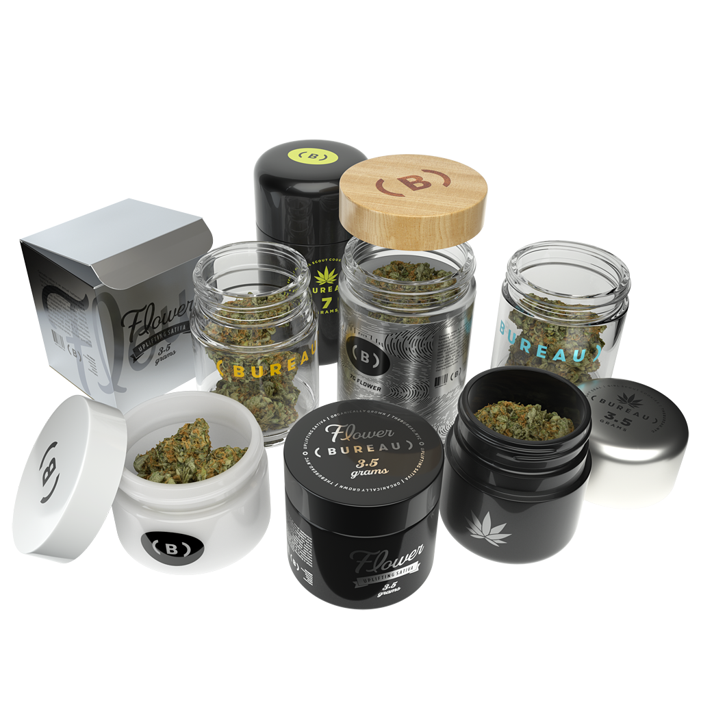 CR Glass Jars