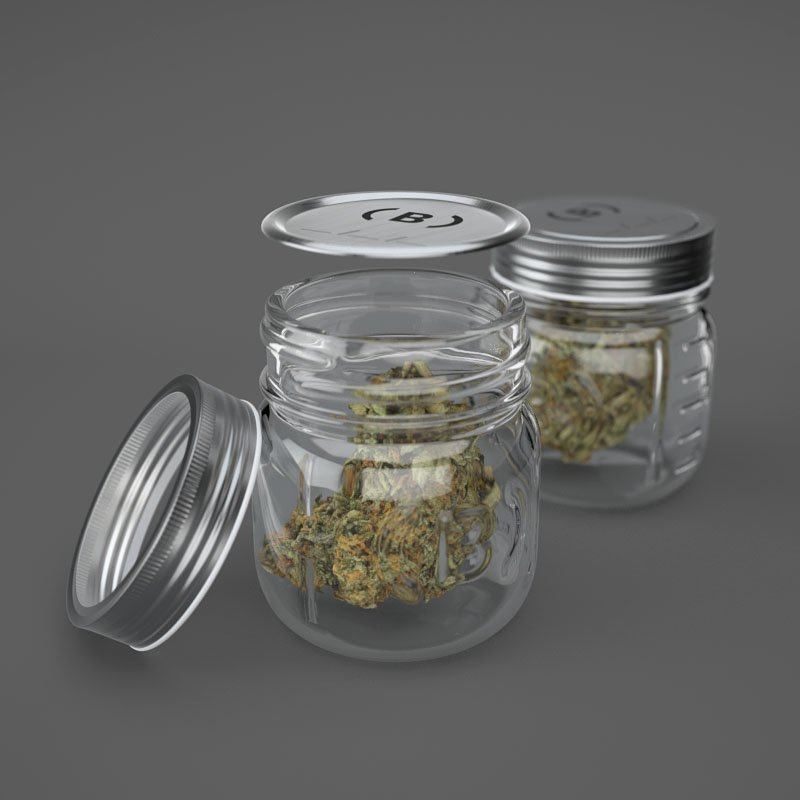 Custom Wholesale Cannabis Jars