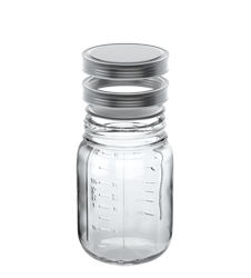 16 oz Round Mason Jar