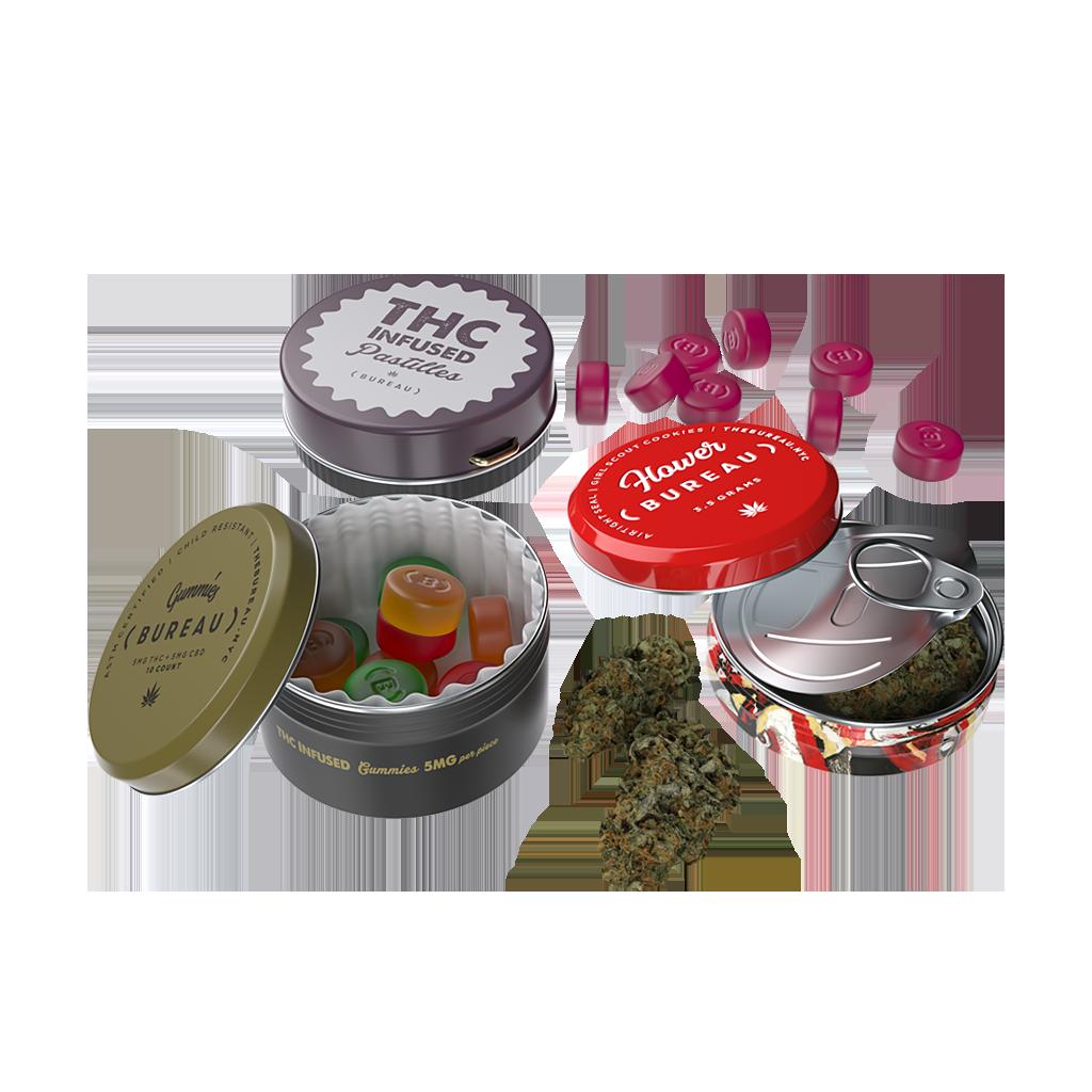 CR Round Tins