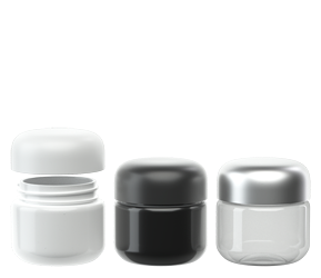 30 Dram Round Plastic eBottles