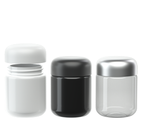 40 Dram Round Plastic eBottles