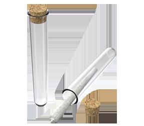 Glass Tube + Cork Stopper
